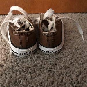 Brown Converse - Toddler
